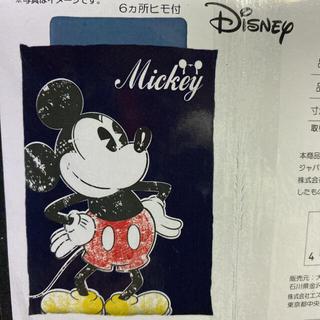 ディズニー(Disney)の【新品】❤️ビッグプリント ミッキー掛布団カバー❤️SL❤️(シーツ/カバー)