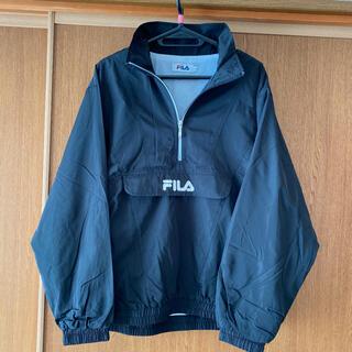 フィラ(FILA)のFILA ナイロンジャケット 黒(ナイロンジャケット)