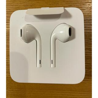 アイフォーン(iPhone)のiPhone イヤホン 未使用(ヘッドフォン/イヤフォン)