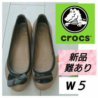 crocs - ★★難あり タグ付き クロックス レインシューズにも 22.5㎝の方にオススメ