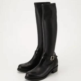 moussy - moussy  ロングブーツ ブラック 黒