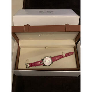 ガガミラノ(GaGa MILANO)のガガミラノ  時計 ピンク(腕時計)