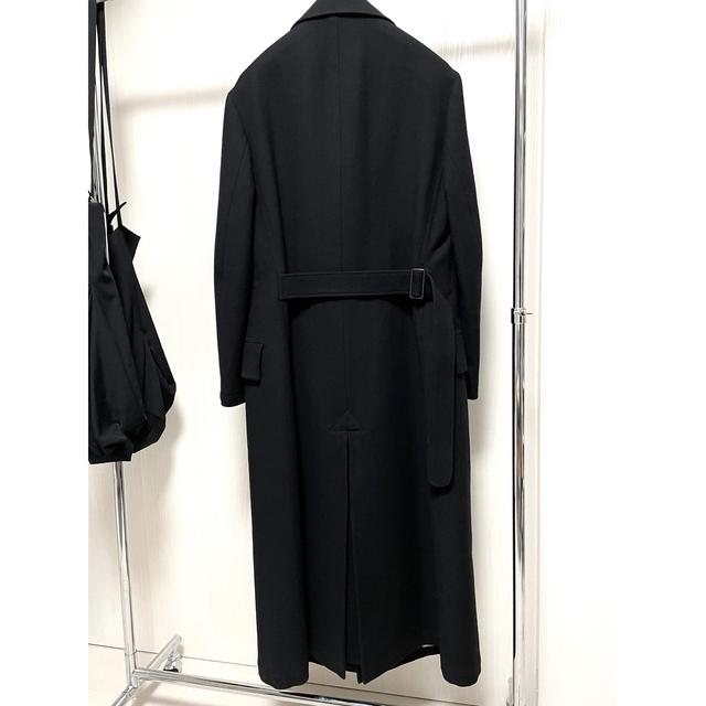 Yohji Yamamoto(ヨウジヤマモト)のヨウジヤマモト 20AW 四角ボタン ロングコート メンズのジャケット/アウター(チェスターコート)の商品写真