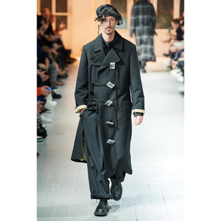 Yohji Yamamoto - ヨウジヤマモト 20AW 四角ボタン ロングコート