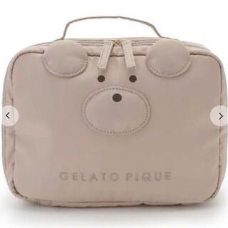 ジェラートピケ(gelato pique)の新品 gelatopique(ジェラートピケ)Bearマルチポーチ オムツポーチ(ベビーおむつバッグ)