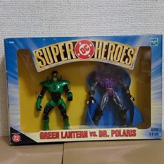 ディーシー(DC)のグリーン・ランタン vs ドクター・ポラリス  DC SUPER HEROES(アメコミ)