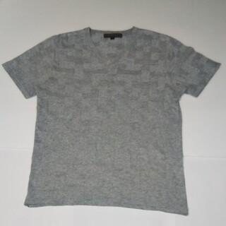 ノーリーズ(NOLLEY'S)のノーリーズ メンズ ブロック織柄 半袖 Tシャツ(Tシャツ/カットソー(半袖/袖なし))