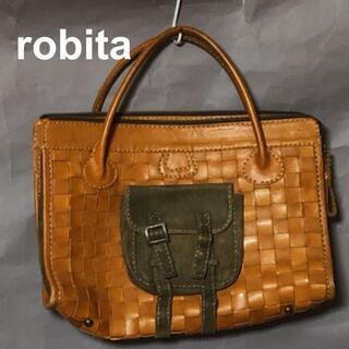 ロビタ(robita)のrobita ロビタ メッシュレザー ブリーフケース/トートバッグ/イントレ(トートバッグ)