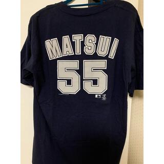 MLB ヤンキース 松井選手 Tシャツ(Tシャツ/カットソー(半袖/袖なし))