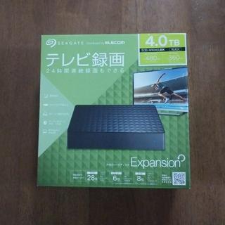SEAGATE 外付けHDD 4.0TB(PC周辺機器)