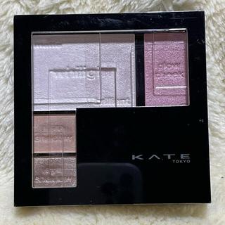 ケイト(KATE)のKATE ホワイトシェイピングパレットWT-2 「パープルホワイト」(フェイスカラー)