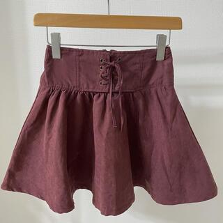 スピンズ(SPINNS)のキュロット スカート ミニスカート スピンズ SPINNS(ミニスカート)