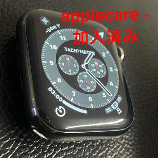 アップルウォッチ(Apple Watch)のapple watch series6 44mm グラファイト ステンレス(腕時計(デジタル))
