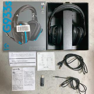 プレイステーション(PlayStation)のLogicool G ゲーミングヘッドセット ワイヤレス 無線 G933s(ヘッドフォン/イヤフォン)