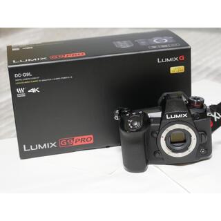 Panasonic - 【美品】Panasonic LUMIX G9PRO ボディ 美品
