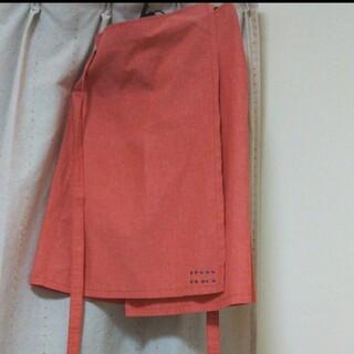 イヴァナヘルシンキ(IVANAhelsinki)のイヴァナヘルシンキ ピンク 巻きスカート(ひざ丈スカート)