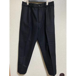 マーカウェア(MARKAWEAR)のMARKAWARE super120s FLANNEL PEGTOP PANTS(スラックス)
