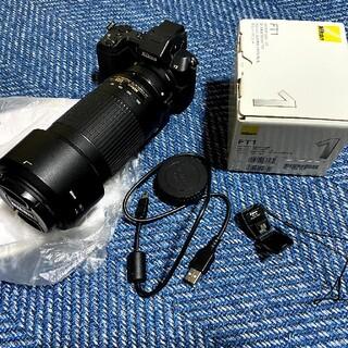 ニコン(Nikon)のNikon 1 V2+FT1+AF-P NIKKOR 70-300mm 超望遠 (ミラーレス一眼)