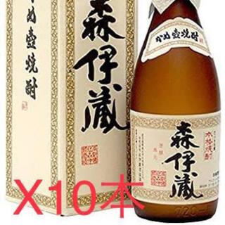 ジャル(ニホンコウクウ)(JAL(日本航空))の森伊蔵 720ml x 10本セット(焼酎)