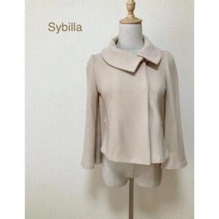 シビラ(Sybilla)のSybilla シビラ 毛100%ジャケット♪(テーラードジャケット)