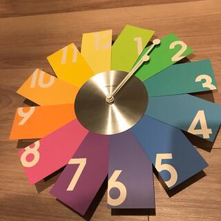 イデアインターナショナル(I.D.E.A international)のイデアレーベル 壁掛け 時計(掛時計/柱時計)