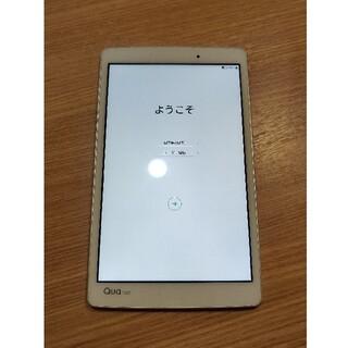 エルジーエレクトロニクス(LG Electronics)のLG qua tab PX LGT31 ホワイト(タブレット)