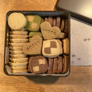 缶入りクッキー  ブラウン(菓子/デザート)