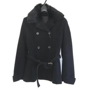 ニューヨーカー(NEWYORKER)のニューヨーカー Pコート サイズ9AR S - 黒(ピーコート)
