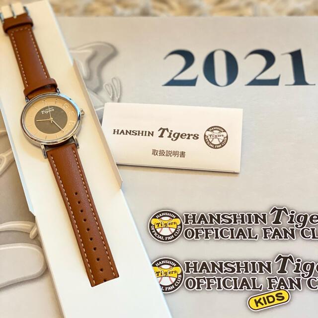 阪神タイガース(ハンシンタイガース)の阪神タイガース腕時計 リストウォッチ 新品 非売品 スポーツ/アウトドアの野球(記念品/関連グッズ)の商品写真