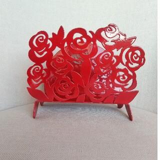 アレッシィ(ALESSI)のArti & Mestieri レターラック 薔薇 ローズ イタリア製(置物)