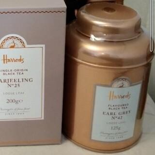 ハロッズ(Harrods)の◇ハロッズ◇ No.42 アールグレイ 125gリーフ缶 紅茶(茶)