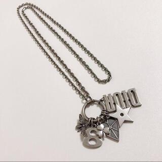 クリスチャンディオール(Christian Dior)のDior ディオール ロゴ モチーフチャーム ネックレス ペンダント(ネックレス)