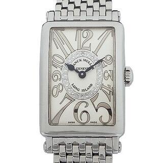 フランクミュラー(FRANCK MULLER)のフランク・ミュラー ロングアイランド レリーフ ダイヤモンド レディース時計(腕時計)