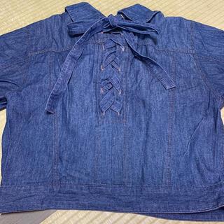 ダブルクローゼット(w closet)のデニムジャケット(Gジャン/デニムジャケット)