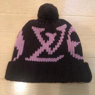ルイヴィトン(LOUIS VUITTON)のルイヴィトン ニット帽 LV LOUIS VUITTON (ニット帽/ビーニー)
