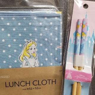 ディズニー(Disney)のSKATER☆アリスランチクロス&デイジーお箸セット(キャラクターグッズ)