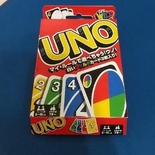 ウーノ(UNO)のUNO カードゲーム 白いワイルドカード入り(トランプ/UNO)