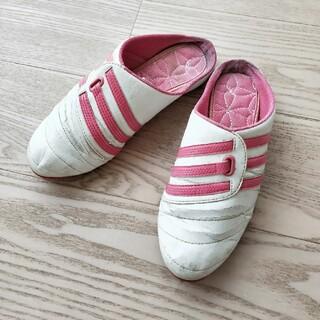 アディダス(adidas)のアディダス ミュール スリッポン 22.5cm(スニーカー)