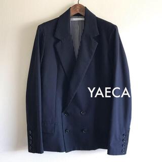 ヤエカ(YAECA)の極美品⭐️YAECA ジャケット ネイビー(テーラードジャケット)