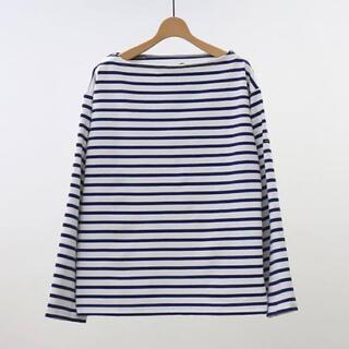 コモリ(COMOLI)のOUTIL TRICOT AAST ウティ バスクシャツ サイズ0(カットソー(長袖/七分))