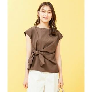 エニィスィス(anySiS)の❇️専用❇️エニスィス  ドッキングリボンブラウス  美品(Tシャツ(半袖/袖なし))