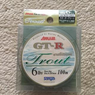 APPLAND GT-R Trout 6lbs 100mウォーターグリーン(釣り糸/ライン)