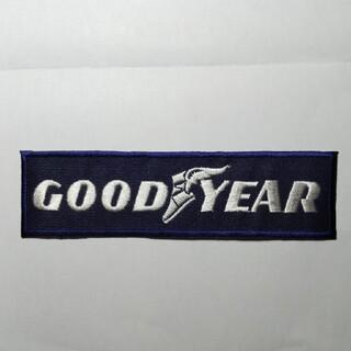 グッドイヤー(Goodyear)のアイロンワッペン GOOD YEAR 1枚(その他)