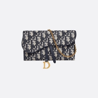 ディオール(Dior)のDIOR 新品 サドル バッグ チェーンバッグ(ショルダーバッグ)