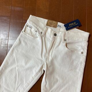 ポロラルフローレン(POLO RALPH LAUREN)の新品タグ付きホワイトジーンズ(デニム/ジーンズ)