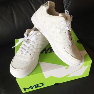 マッドフット(MAD FOOT)の【美品】MAD FOOT ホワイト スニーカー(