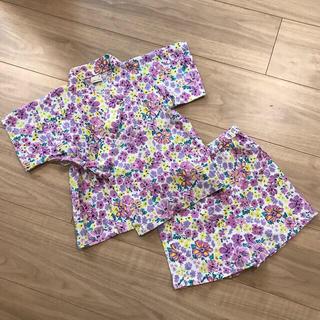 プティマイン(petit main)の甚平 90サイズ 浴衣 (甚平/浴衣)