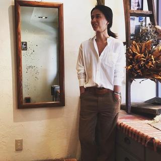 ファビアンルー(Fabiane Roux)のNOWOS  シンプルシャツ(シャツ/ブラウス(長袖/七分))
