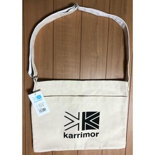 カリマー(karrimor)のkarrimor カリマー コットンショルダーバッグ サコッシュ(ショルダーバッグ)