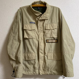 ステューシー(STUSSY)の【ステューシー】M65 ミリタリージャケット Mサイズ オーバーサイズ(ミリタリージャケット)